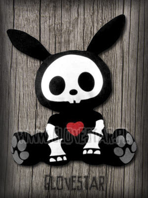 SKELANIMALS jack the rabbit | GLOVESTAR punk rock sklep skelanimals emo ciuchy hello kitty scene ubrania piercing shop