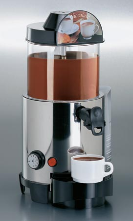 Maszyna do gorącej czekolady.