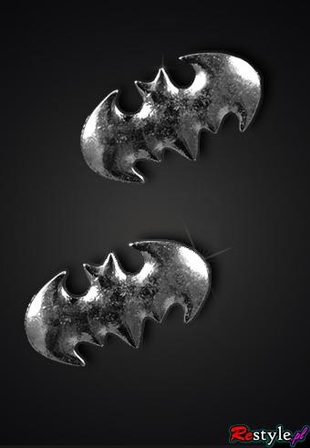 Kolczyki Nietoperze