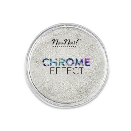pyłek chrome effect silver