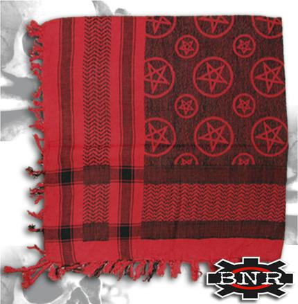 Arafatka PENTAGRAM red-black