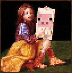 Minecraft dziewczynka ze świnką