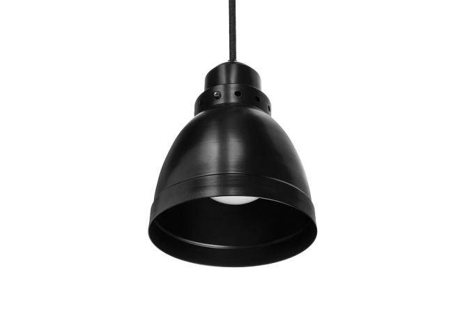 Lampa na korytarz - kabel czarny