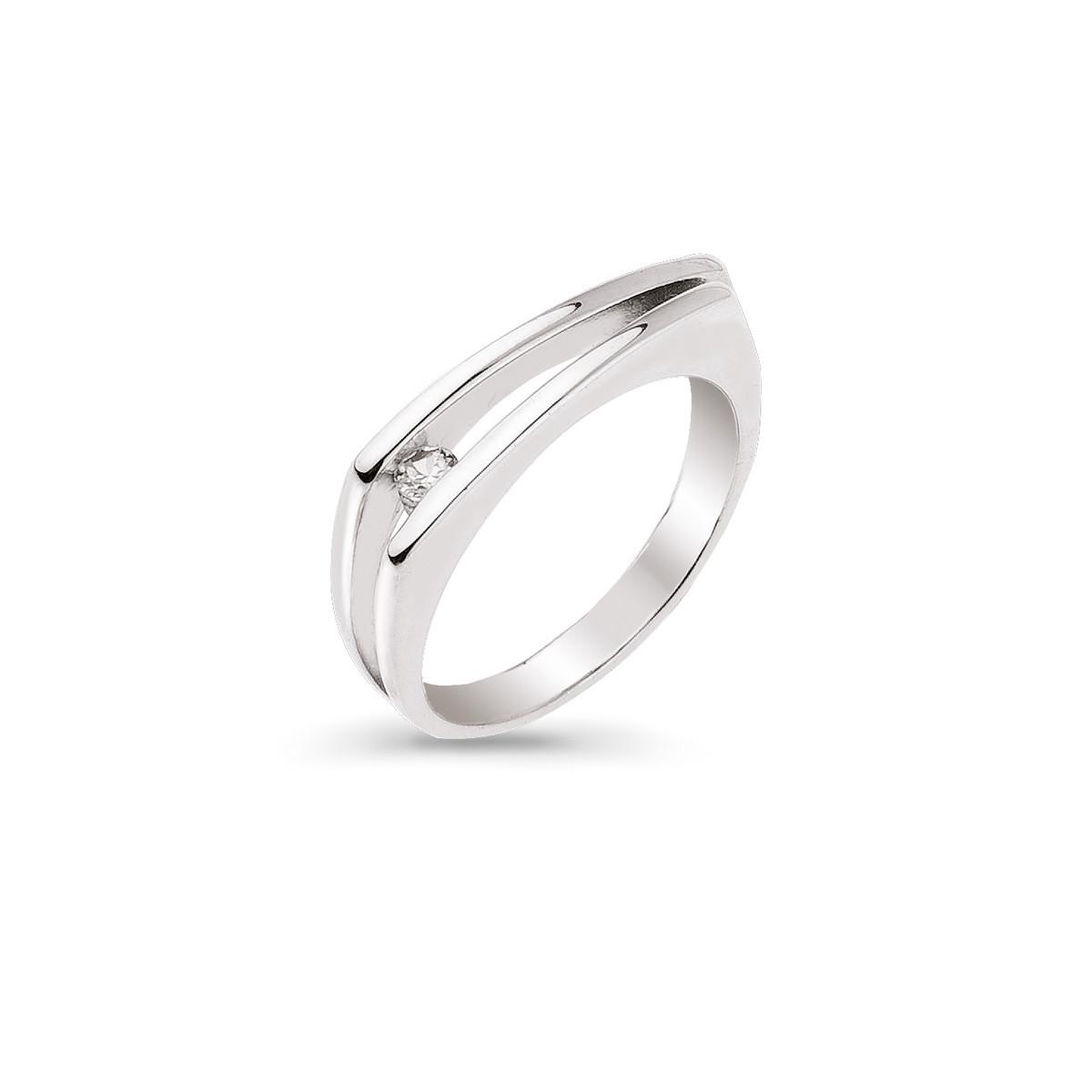 Pierścionek srebrny, rozmiar: 11, Kruk, model: SAR/PS04