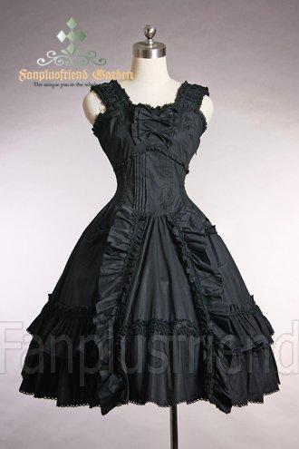 Sukienka goth lolita