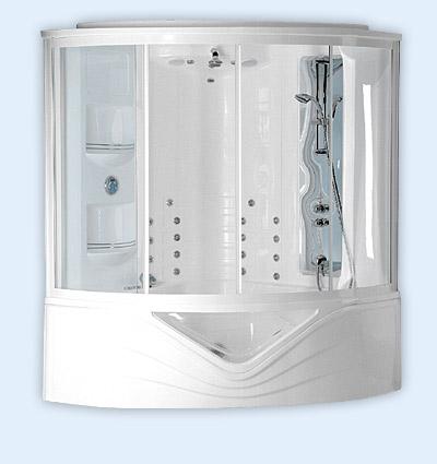 pokój kąpielowy z kabiną masażowo - parową