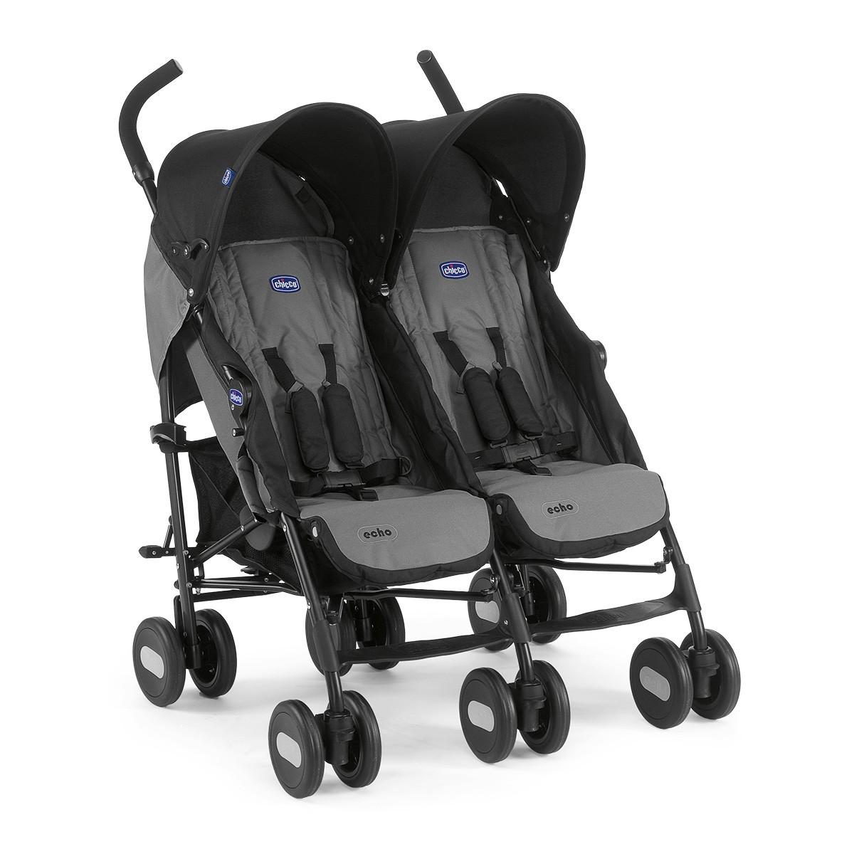 Wózek dla bliźniąt Echo  Twin