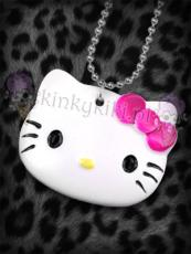 Wisiorek Hello Kitty głowa z kokardka