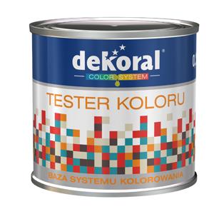 Tester koloru Dekoral