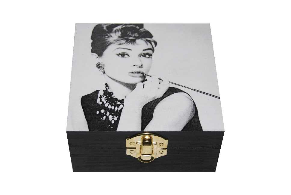 Szkatułka Puzderko Audrey Hepburn
