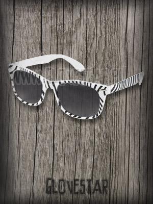Okulary wayfarer electro zebra ;))