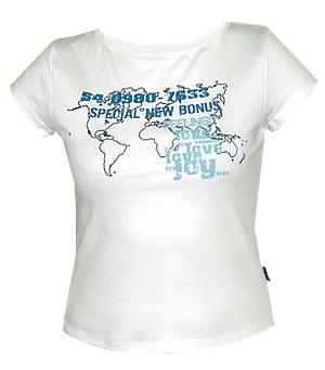 jakiś fajny t-shirt