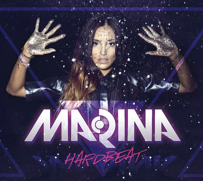 MaRina - Hardbeat z autografem