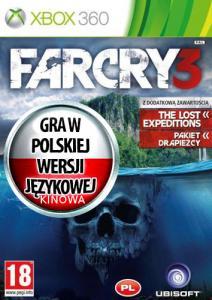 FAR CRY 3 XBOX OBŁĘDNA EDYCJA PL SKLEP KONSOLA 24H