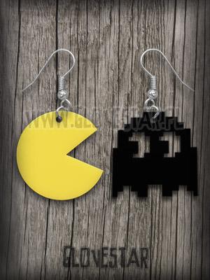 Kolczyki Pac Man