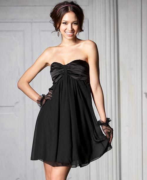 Śliczna czarna sukieneczka Japan Style...
