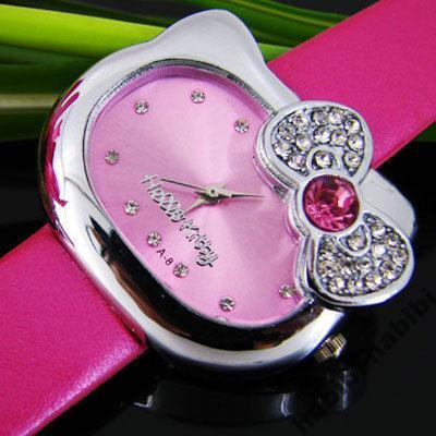 Różowy zegarek HELLO KITTY