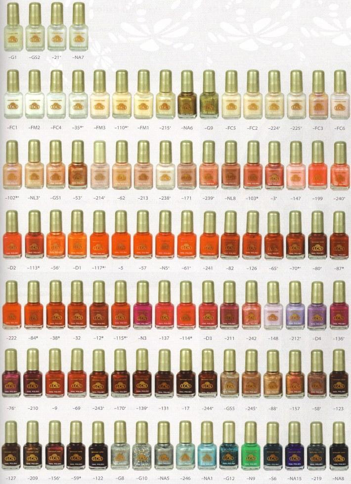Kompet lakierów do paznokci w różnych kolorach!
