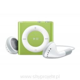 iPod shuffle - green