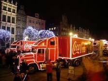 zobaczyć konwój Coca Coli