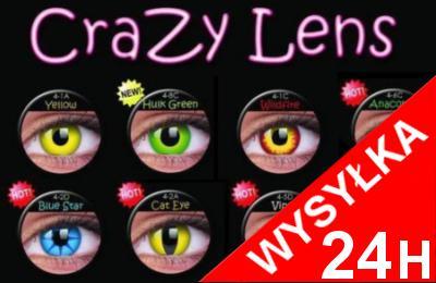 KOLOROWE SOCZEWKI KONTAKTOWE Crazy Wild Eyes / Eye