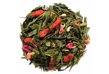 Herbata zielona Granat Grejpfrut