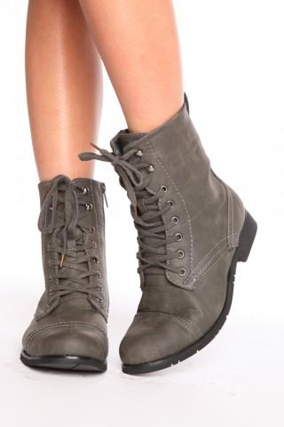 Prague Combat Boots