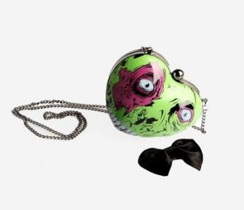 IRON FIST Zombie Rotting Heart Hardshell Bag