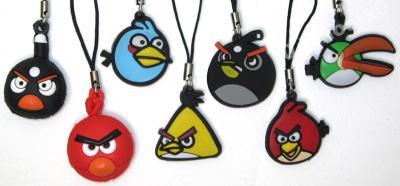 zawieszki do telefonu ANGRY BIRDS zawieszka uchwyt