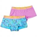 Zaccini Sunny 2-pack lady boxers blue/purple