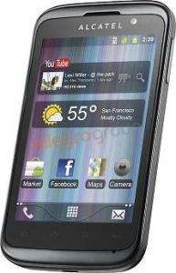ALCATEL ONE TOUCH 991D ANDROID DUAl sim.