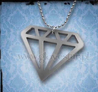 Naszyjnik diament