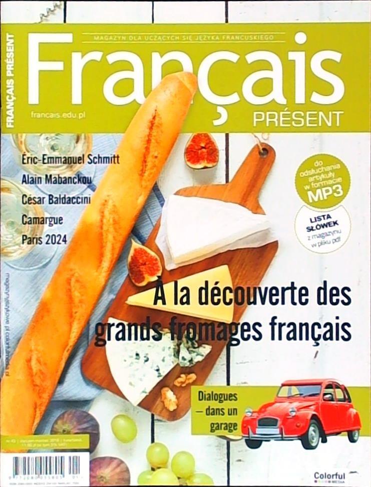 Francais Present - prenumerata
