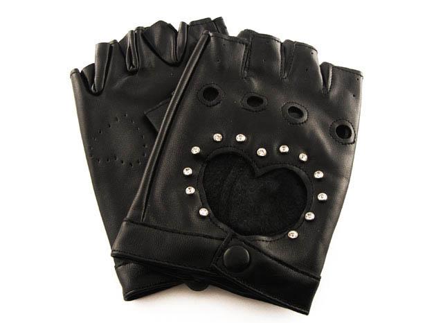 całuski bez palców (czarne!)