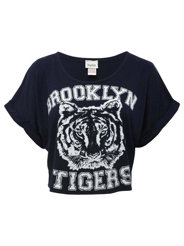 Brooklyn tigers crop t-shirt
