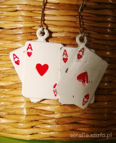 Kolczyki karty