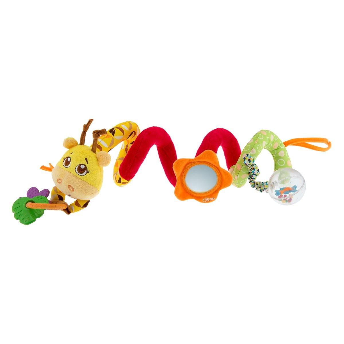 Żyrafa - zabawka do wózka