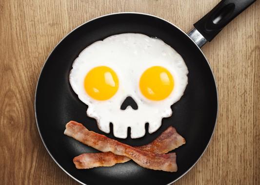 Foremka do jajek – czaszka