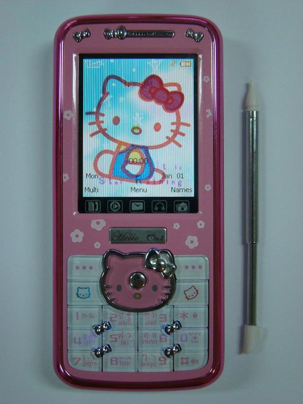 Telefon Hello kitty nk62 dotykowy