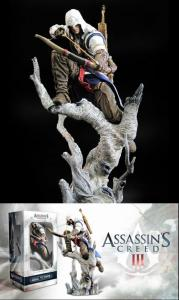 ASSASSINS CREED III CONNOR STATUE - 25 CM