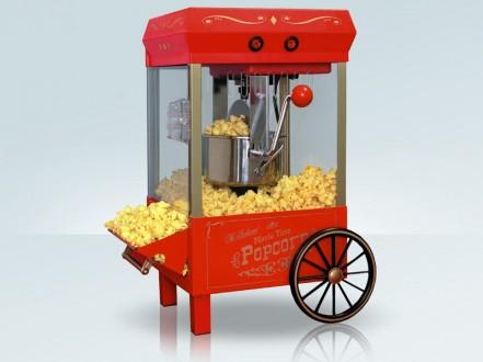 Klasyczne urządzenie do popcornu