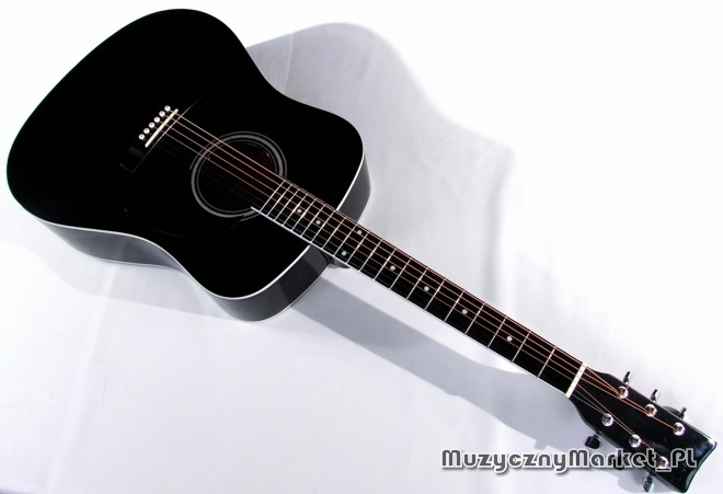 gitara akustyczna (czarna)