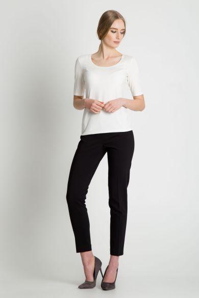 Białą bluzka Bialcon