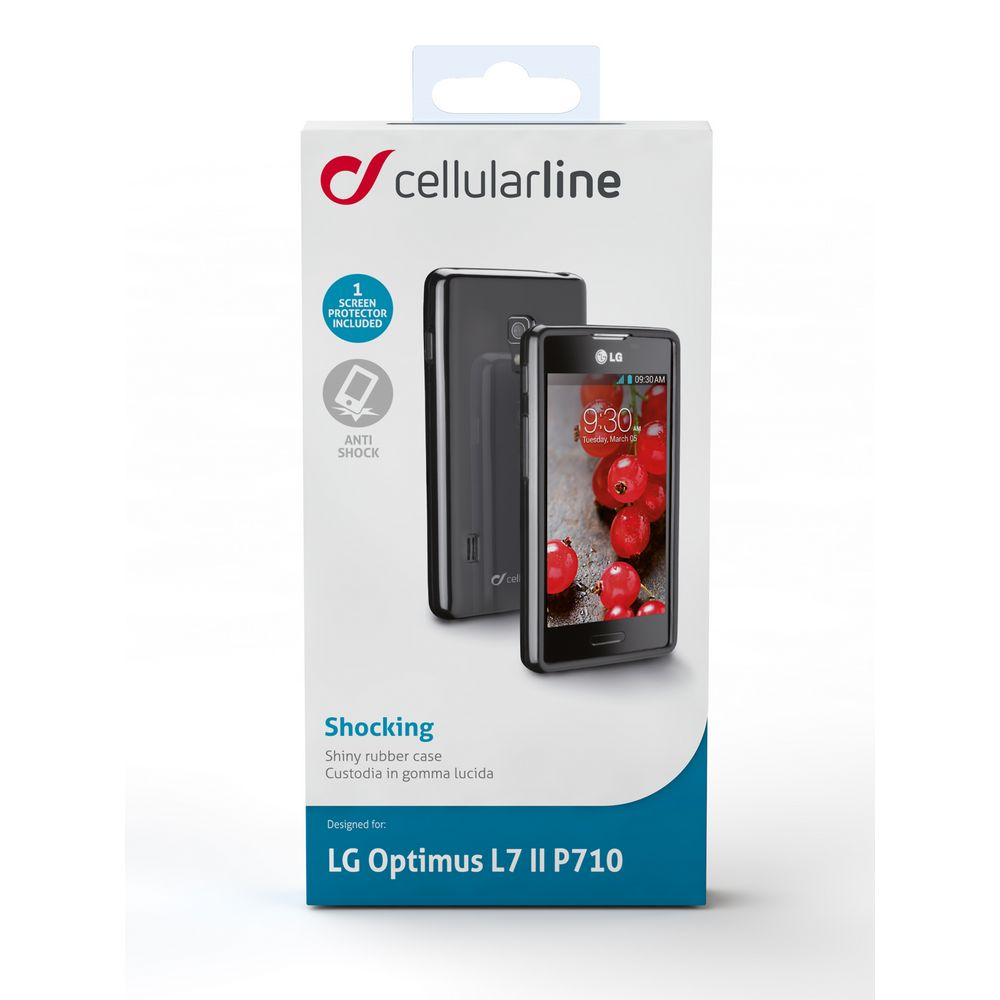 CELLULAR LINE Shocking Etui LG L7 II czarne