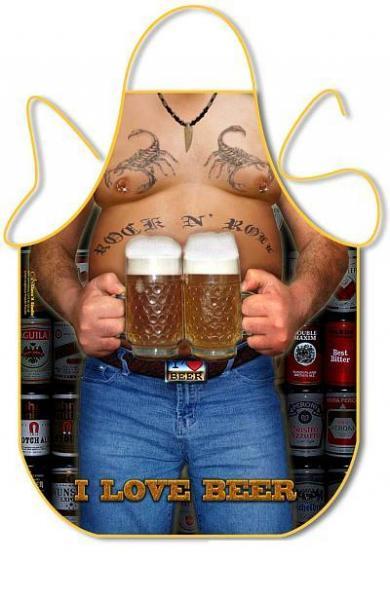 FARTUSZEK - I LOVE BEER