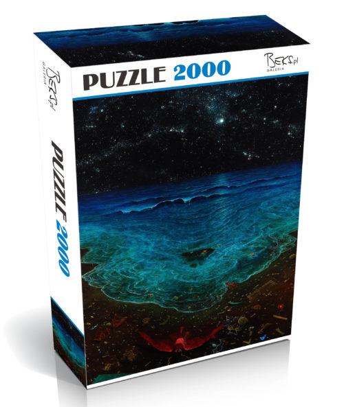 Puzzle 2000 elementów Zdzisław Beksiński AG76