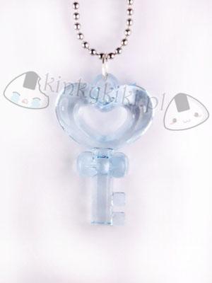 Wisiorek klucz blue niebieski kinkykiki