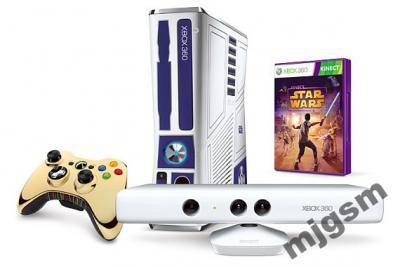 XBOX 360 STAR WARS 320GB,13GIER,KINECT, ZŁOTY PAD!