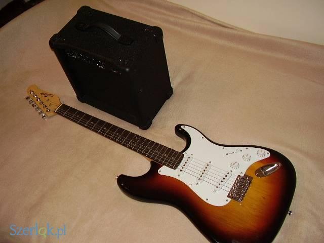 Gitara elekryczna ze wzmacniaczem Career