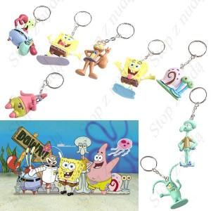 Zestaw breloczek brelok Sponge Bob SpongeBob 8szt.